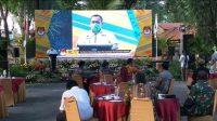 Saling Sindir Di Deklarasi Kampanye Damai KPU Surabaya