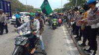 Massa Kelompok Cipayung Plus Jatim Bergerak Menuju Gedung DPRD Jawa Timur