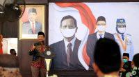 Mahfud MD Kampanyekan Masker saat Dialog Kebangsaan di Probolinggo