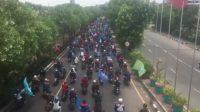 30 Ribu Massa Gelar Aksi Tolak Omnibus Law Di Surabaya, 4.360 Personel Gabungan Siaga