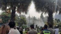 Aksi Tolak Omnibus Law Di Surabaya Ricuh