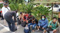 Delapan Pemuda dan Empat Remaja Diamankan di Bundaran Waru