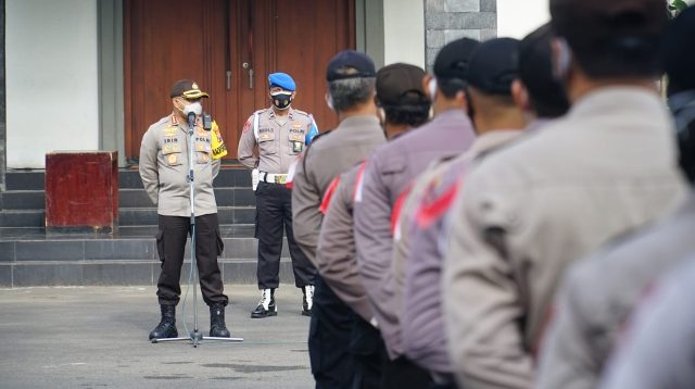 Kembali Pimpin Apel Jam Pimpinan, Ini Instruksi Kapolrestabes Surabaya