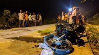 Tiga Orang Meninggal dalam Kecelakaan Frontal di Puri Mojokerto