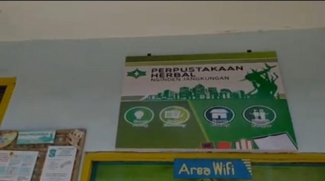 Di Surabaya, Ada Perpustakaan Herbal