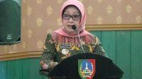 Mundjidah Wahab Bupati Jombang Positif Covid-19