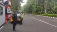 Satsabhara Polrestabes Surabaya Laksanakan Pos Pagi di Jalanan Surabaya