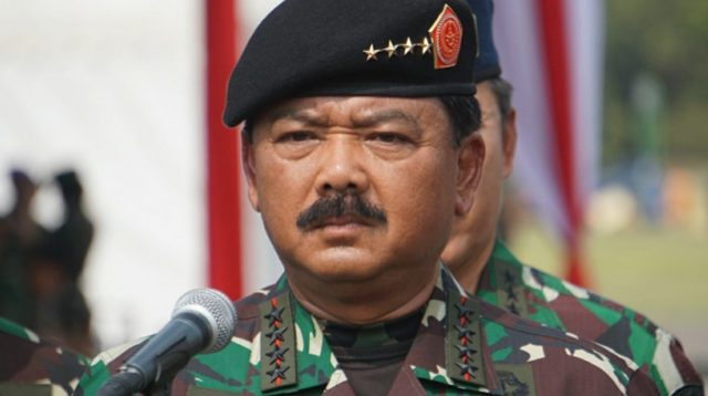 Panglima TNI Dukung Penurunan Baliho Rizieq Shihab