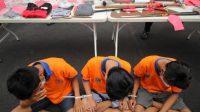 5 Pelaku Tawuran Diamankan Polrestabes Surabaya