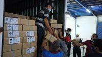 Surat Suara Pilkada Surabaya Mulai Didistribusi ke 31 Kecamatan