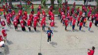 Agenda Senam Kampanye, ASN Kecamatan Di Surabaya Diduga Terlibat