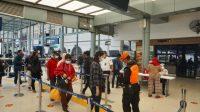 Hari Pertama Penerapan Rapid Test Antigen, Stasiun Pasar Senen Membludak