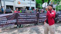 LSM Mapekat Tuntut Bawaslu Surabaya Usut Penyelewengan Bantuan BNPB untuk Kampanye