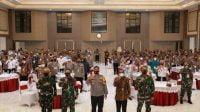 Ribuan Personel Gabungan Siap Amankan Cuti Natal dan Tahun Baru 2021