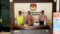Langkah Antisipatif Satsabhara Menjaga KPU Kota Surabaya Dalam Atmosfer PILKADA Serentak 2020