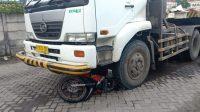 Salip Truk di Osowilangon, Pengemudi Sepeda Motor Meninggal Dunia