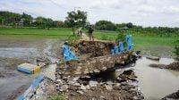 Dua Jembatan Putus Akibat Banjir di Mojokerto