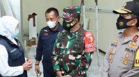 Tangani Covid-19 di Malang Raya, Khofifah: RS Lapangan Malang Raya Beroperasi 10 Hari Lagi