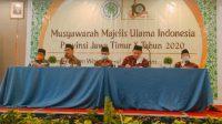 Mutawakkil Alallah Terpilih Jadi Ketua MUI Jatim 2020-2025