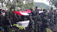 TNI-AD Gugur Dalam Baku Tembak Kelompok Sparatis Bersenjata (KSB) saat bertugas di Kodim 1702/Jaya Wijaya Timika Papua