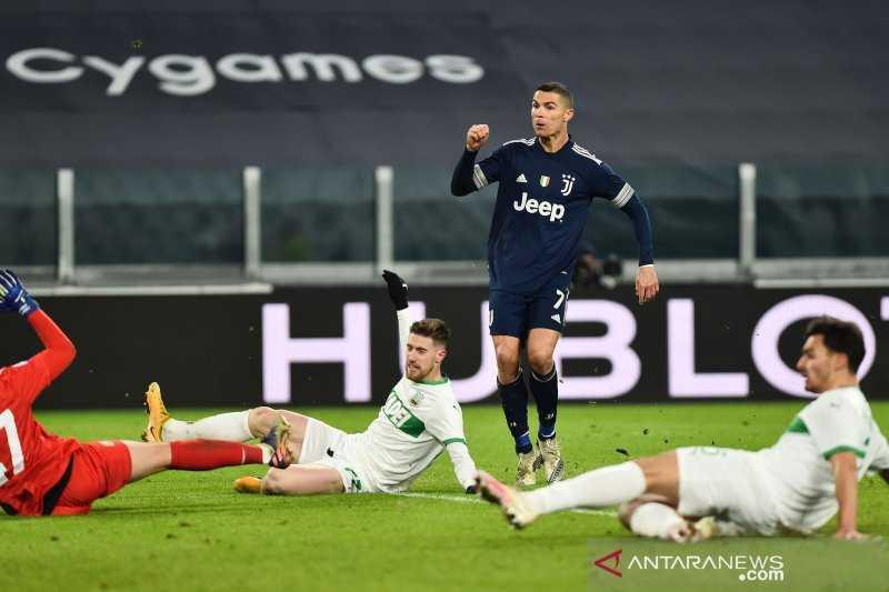 Liga Italia : Juve menang 3-1 atas Sassuolo