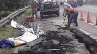 Klarifikasi Jasa Marga Soal Ruas Tol Surabaya-Gempol Ambles