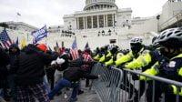 Pejabat AS Ditangkap Terkait Rusuh Di Capitol