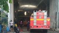 Korsleting Listrik, Stand Pasar Ikan Hias Gunungsari Surabaya Terbakar