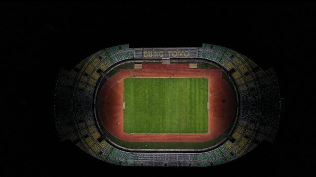 Lampu GBT Sudah Sesuai Standar FIFA