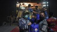 Angkut Bantuan Korban Gempa, KRI dr. Soeharso-990 Tiba di Mamuju