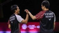 Hendra/Ahsan Lolos ke Final World Tour Finals 2021