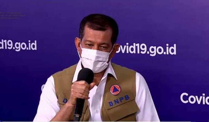 Doni Monardo Kepala BNPB Positif Covid-19