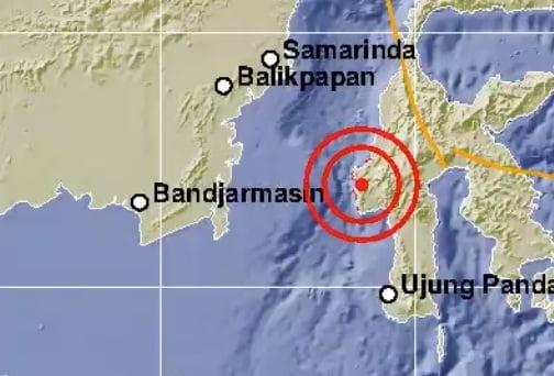 Gempa 6,2 SR Guncang Majene pada Jumat Dini Hari
