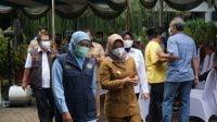 Gubernur Jatim Dorong Percepatan Vaksinasi di Kota Mojokerto
