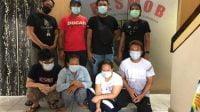 Jadi Komplotan Copet, Satu Keluarga Ditangkap Polisi