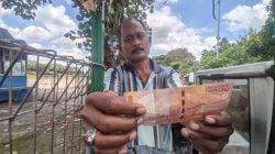 Peredaran Uang Palsu di Mojokerto Sasar Pedagang Pentol