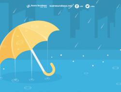 BMKG Juanda: Hari Ini Surabaya Berpotensi Hujan