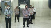 Silaturahmi Ke Mahkamah Agung, Kapolri Bahas Tilang Elektronik