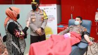 Ratusan Polisi Donor Plasma Konvalesen