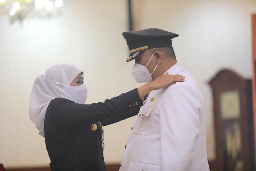 Whisnu Sakti Buana Dilantik Jadi Wali Kota Surabaya