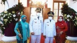 Eri Cahyadi-Armuji Resmi Dilantik Jadi Wali Kota-Wakil Wali Kota Surabaya