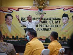 Silaturrahmi ke Sejumlah Partai Politik, Wali Kota Ajak Bersinergi Bangun Surabaya