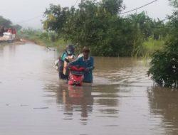 11 Desa di Gresik Terendam Banjir Luapan Kali Lamong