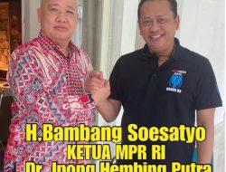 Bambang Soesatyo Ketua MPR RI Dan Menjabat Wakil Ketua Umum KADIN Indonesia Bersama Ketua PITI,Membangun Infrastruktur 5G Demi Masa Depan Anak-Cucu