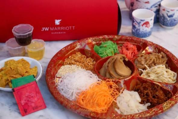 Inilah Hidangan Istimewa untuk Menyambut Tahun Kerbau Logam di JW Marriott Hotel Surabaya