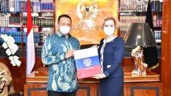 Terima Duta Besar Rusia, Ketua MPR Dorong Kerjasama Pengembangan Vaksin Covid-19