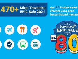 Program Traveloka Epic Sale Diskon Hingga 80%