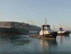 Kapal Ever Given Kembali Berlayar, Pengamat: Dampak Tetap Berlanjut Sementara