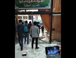 Kaca Gedung Islamic Center Surabaya Pecah, Enam Orang Kader HMI Diamankan