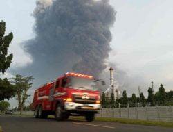 Dua Titik Api di Kilang Pertamina Balongan Berhasil Dipadamkan